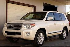 Аренда автомобиля Toyota Land Cruiser 200 2015г с водителем Самара