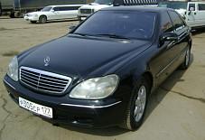 Mercedes 220 S-класса Москва