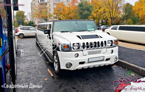 Hummer H2 White bas Липецк