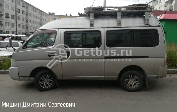 Nissan caravan Магадан