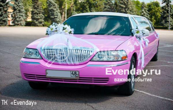 LINCOLN TOWN CAR «TIFFANY PINK» Липецк