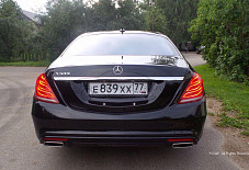 Mercedes S 222 Москва