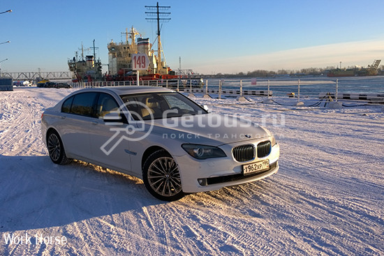 BMW 740Li Long 2011 Архангельск
