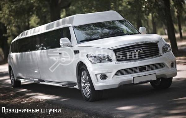 Infiniti QX56 II White Prince Липецк